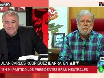 Juan Carlos Rodríguez Ibarra en ARV