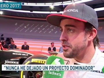 """Fernando Alonso: """"El año que viene voy a ganar; donde corra, voy a ganar"""""""