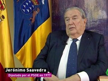 Jerónimo Saavedra, el primer diputado homosexual del PSOE
