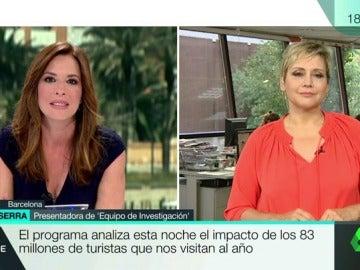 Mamen Mendizabal y Gloria Serra en MVT