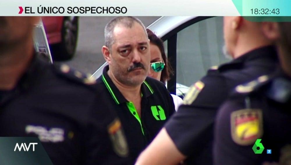 Miguel Ramos, expareja y sospechoso de la desaparición de Juana