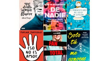Nuevas publicaciones de literatura juvenil