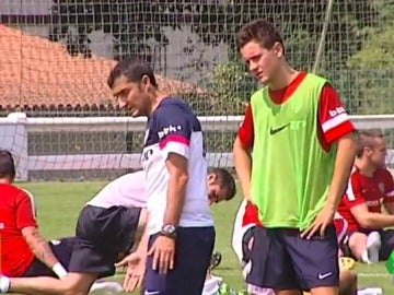Ander Herrera y Ernesto Valverde