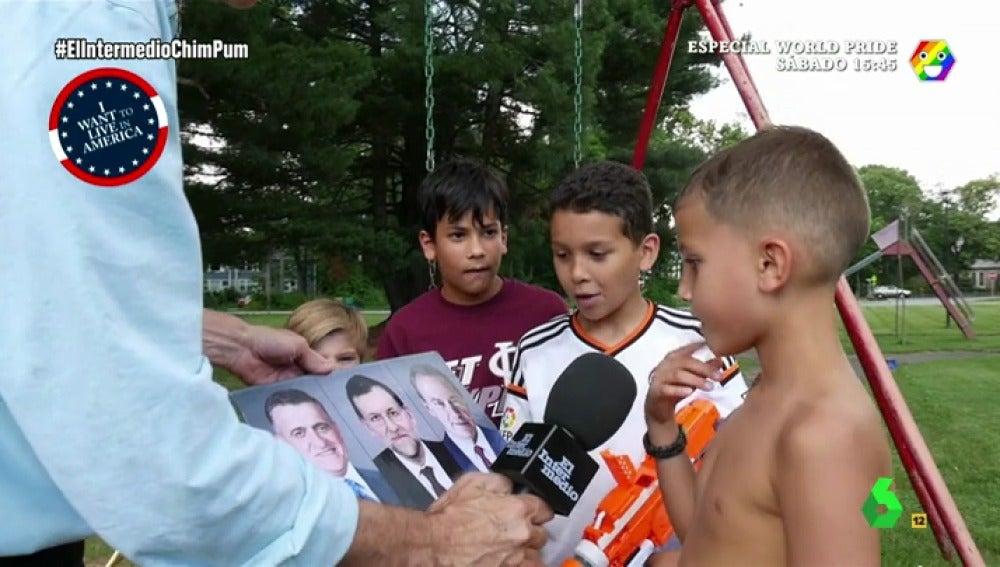 Guillermo Fesser pregunta a los niños americanos