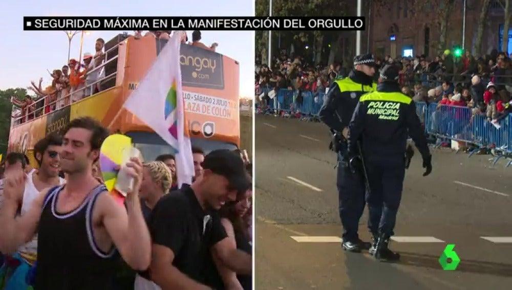 Fuertes medidas de seguridad en el World Pride