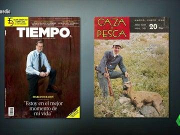Mariano Rajoy posando en revistas de tendencias