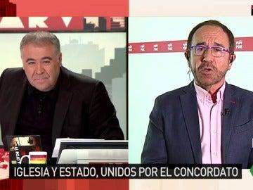 Andrés Perelló, secretario de Justicia y de Nuevos Derechos del PSOE