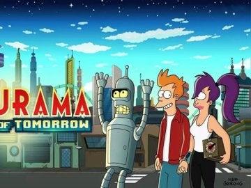 Portada del juego 'Futurama: Mundos del Mañana'