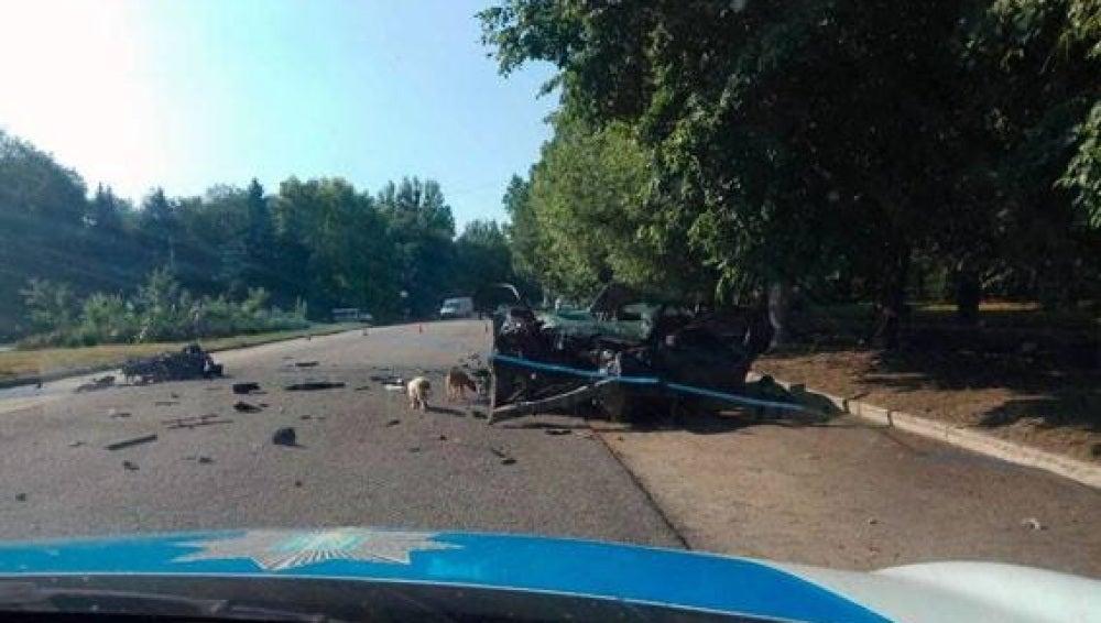 El coche en el que murieron las dos jóvenes