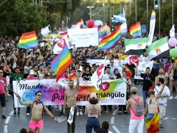Imagen de archivo de la manifestación del Orgullo Gay en Madrid