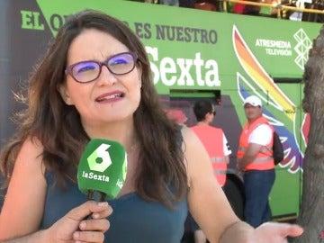 """Mónica Oltra: """"El Orgullo hace falta porque la diversidad en este país no siempre se ha vivido con tanta normalidad como hasta ahora"""""""