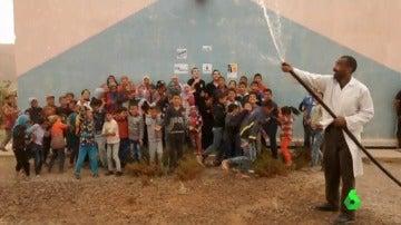 Estudiantes de Guipúzkoa cambian la vida de dos pueblos de Marruecos al crear una bomba hidraúlica