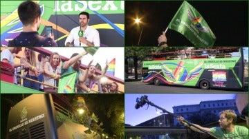 El World Pride Madrid 2017, desde la carroza de laSexta