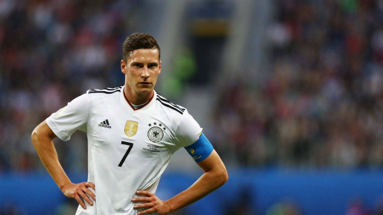 Draxler, con Alemania