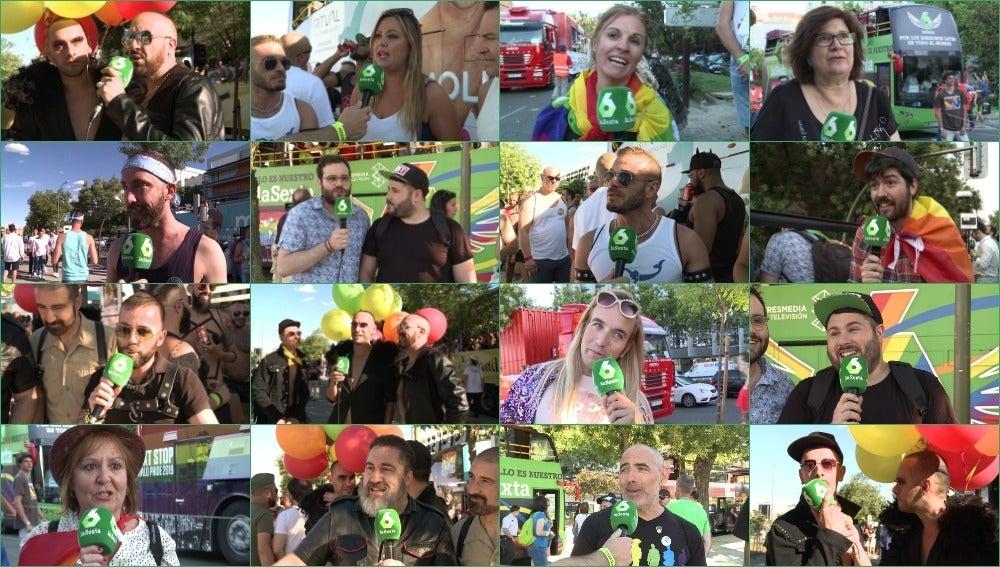 La calle apoya y reivindica la importancia del World Pride Madrid 2017