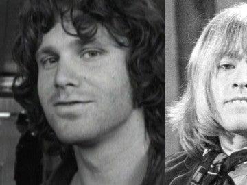 Jim Morrison y Brian Jones