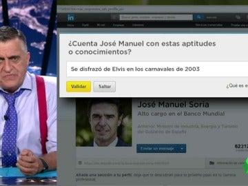 Wyoming revisaba el Linkedin de José Manuel Soria
