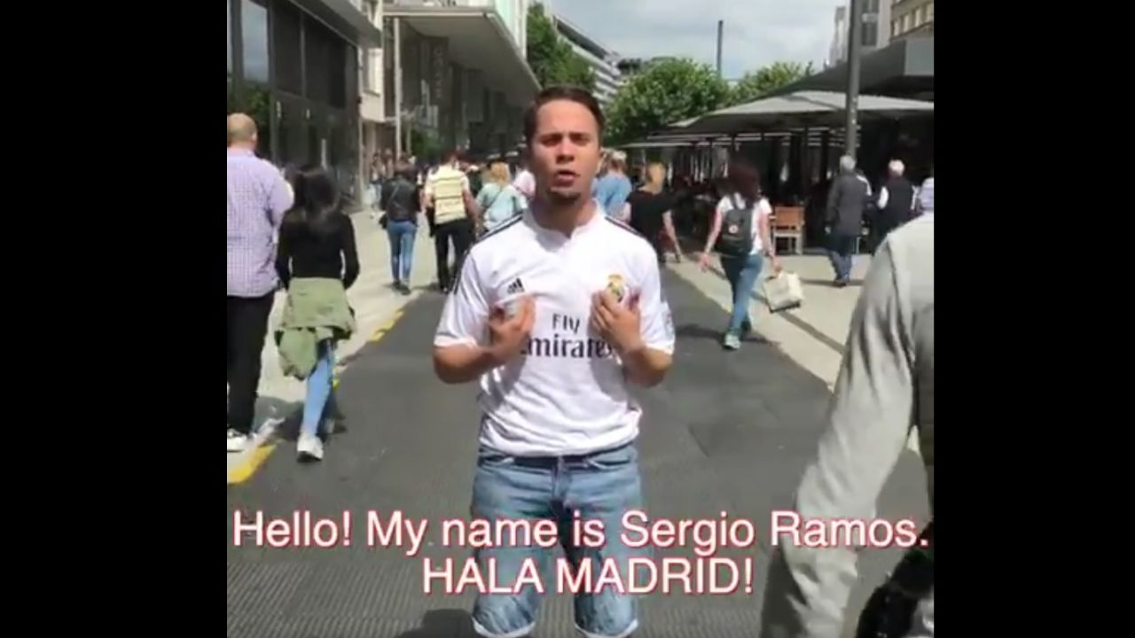 La parodia de Sergio Ramos en redes sociales