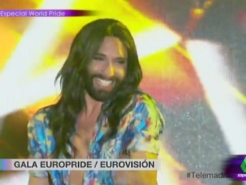 Conchita en el World Pride 2017