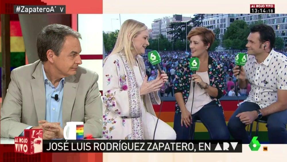"""Zapatero, sobre el matrimonio igualitario: """"El matrimonio es el amor"""""""