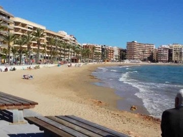 Playa del cura, en Gran Canaria