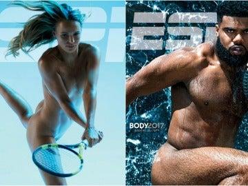 Los desnudos de Wozniacki y Zeke Elliott