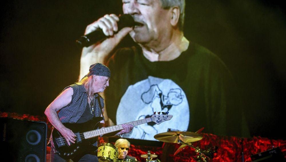 La banda británica Deep Purple