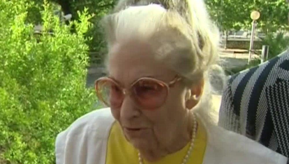 Mary Díaz, la abuela estafada por su nieto