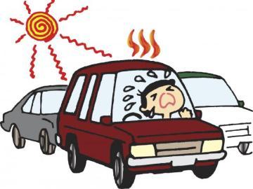 Calor en el interior de un vehículo