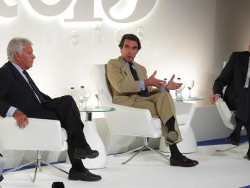 Felipe González, José María Aznar y Zapatero