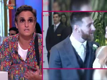 Josie, sobre la boda de Messi