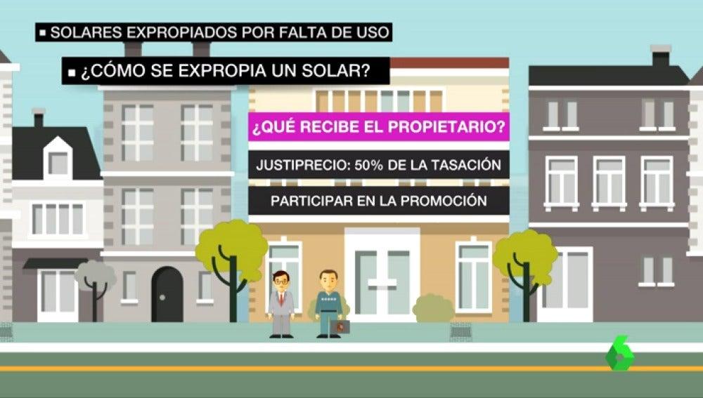 """Una empresa valenciana aprovecha la ley que aprobó el PP para edificar en un terreno ajeno sin permiso: """"Es una barbaridad que te puedan quitar un terreno"""""""