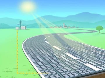 Boceto de las carreteras