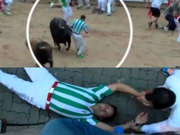 El corredor de la camiseta del Betis en San Fermín