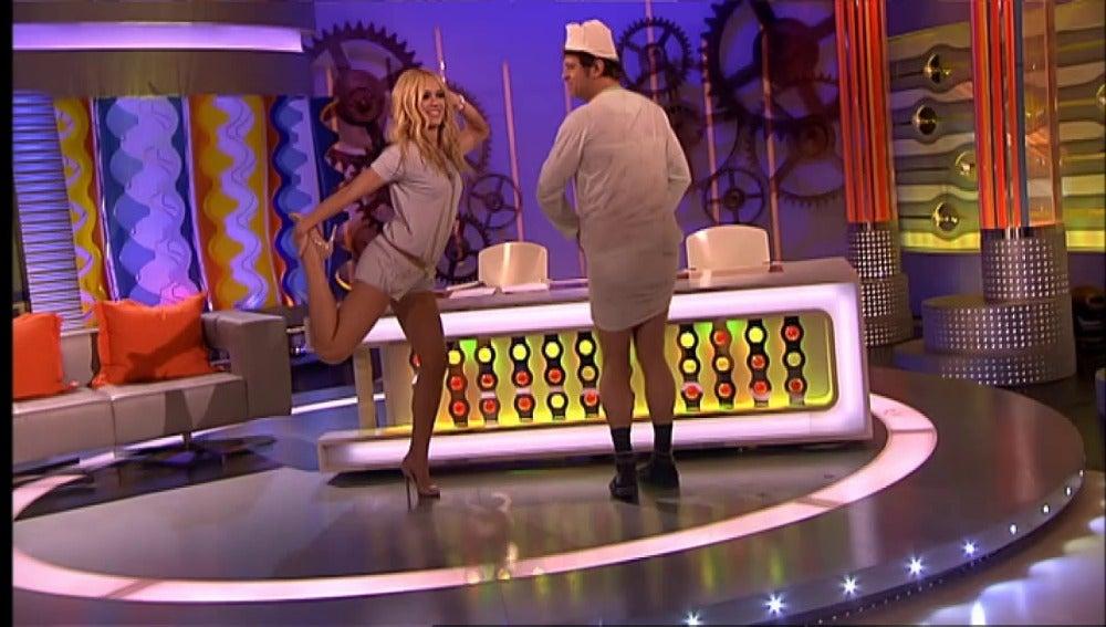 Baile de Patricia Conde y Miki Nadal
