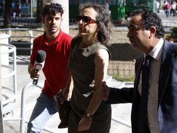 Noelia de Mingo realiza un examen psiquiátrico que determinará si sale libre