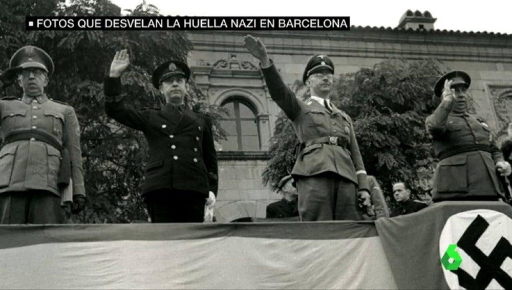 Estas son las imágenes que desvelan la huella nazi en Barcelona