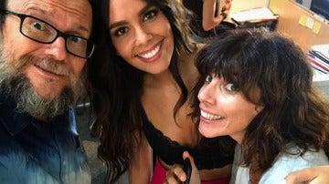 Santiago Segura, Cristina Pedroche y Maribel Verdú
