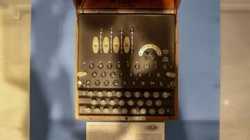 Ejemplar de la máquina 'Enigma'