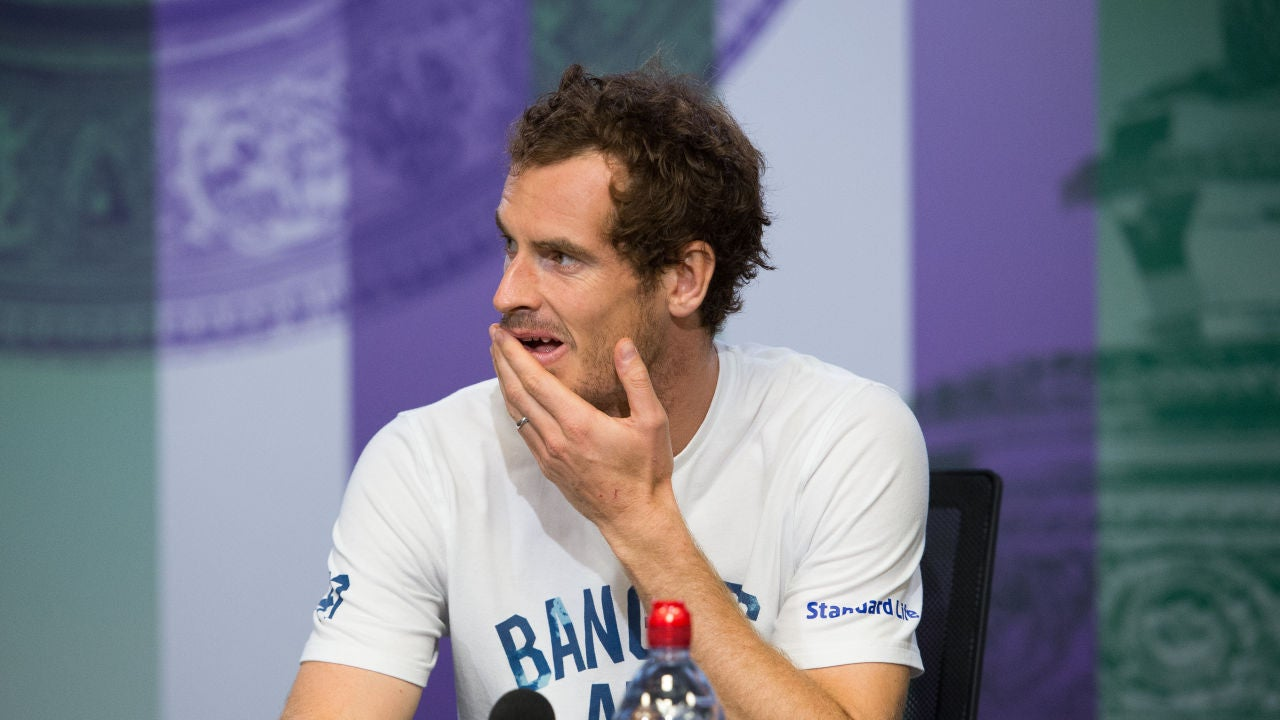 Andy Murray, en rueda de prensa