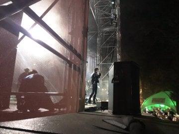 The Horrors, durante su actuación en Portamérica 2017