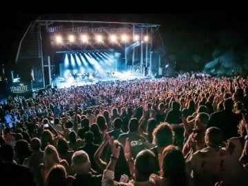 Un concierto en el escenario de Starlite Marbella