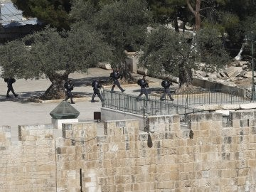 Tiroteo en la ciudad vieja de Jerusalén
