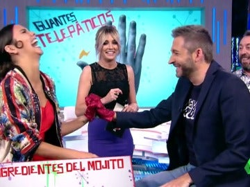 Cristina Pedroche y Frank Blanco en Zapeando