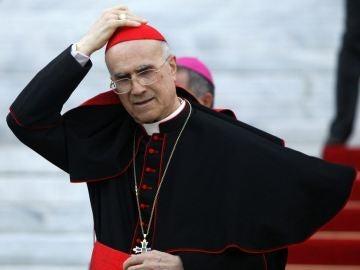 El exsecretario de Estado vaticano Tarciso Bertone