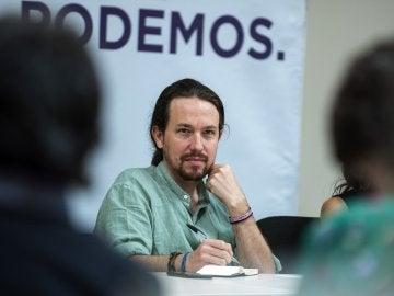 Pablo Iglesias, en el Consejo Ciudadano Estatal
