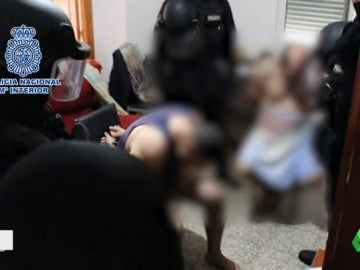 Detenidas cinco personas por tráfico de drogas en Valencia
