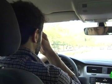Un conductor con síntomas de somnolencia
