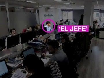 El jefe ahora se sienta entre sus empleados