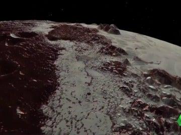 La NASA consigue captar nuevas y espectaculares imágenes de Plutón gracias a la sonda New Horizons
